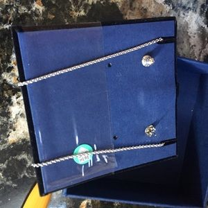 Swarovski Jewelry - SWAROVSKI matching necklace and earring set